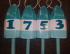 "Wooden Lobster Buoy - 21"" - Customized with Numbers"