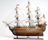 """HMS Victory Model Ship - 27"""" Exclusive Edition - Optional Personalized Plaque"""