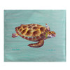 Green Sea Turtle Fleece Throw