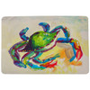 Teal Crab Door Mat