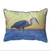 Blue Heron Pillows