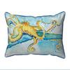 Gold Octopus Pillows