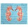 Coral Seahorses Place Mats - Set of 2