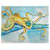 Gold Octopus Place Mats - Set of 2