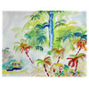 Colorful Palms Place Mats - Set of 2