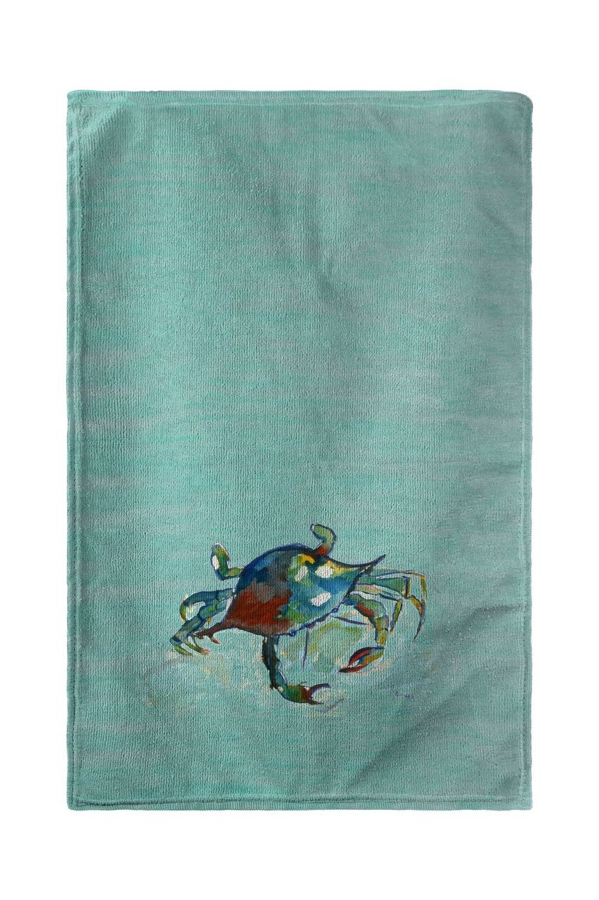 Betsy's Crab Beach Towel