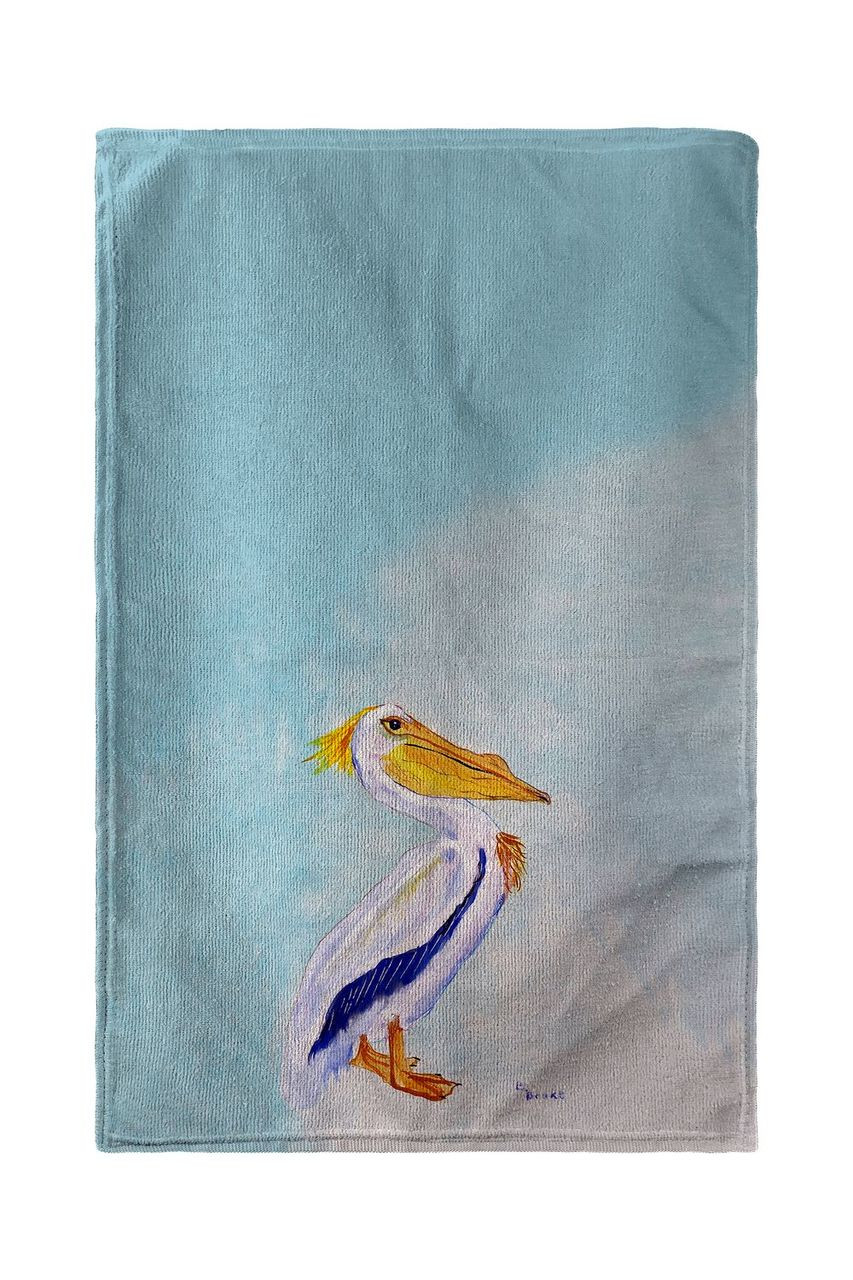 King Pelican Beach Towel