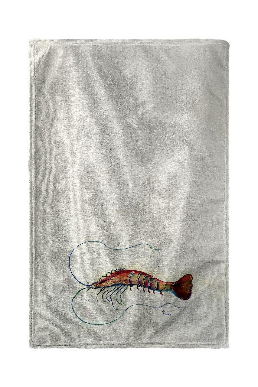 Betsy's Shrimp Beach Towel