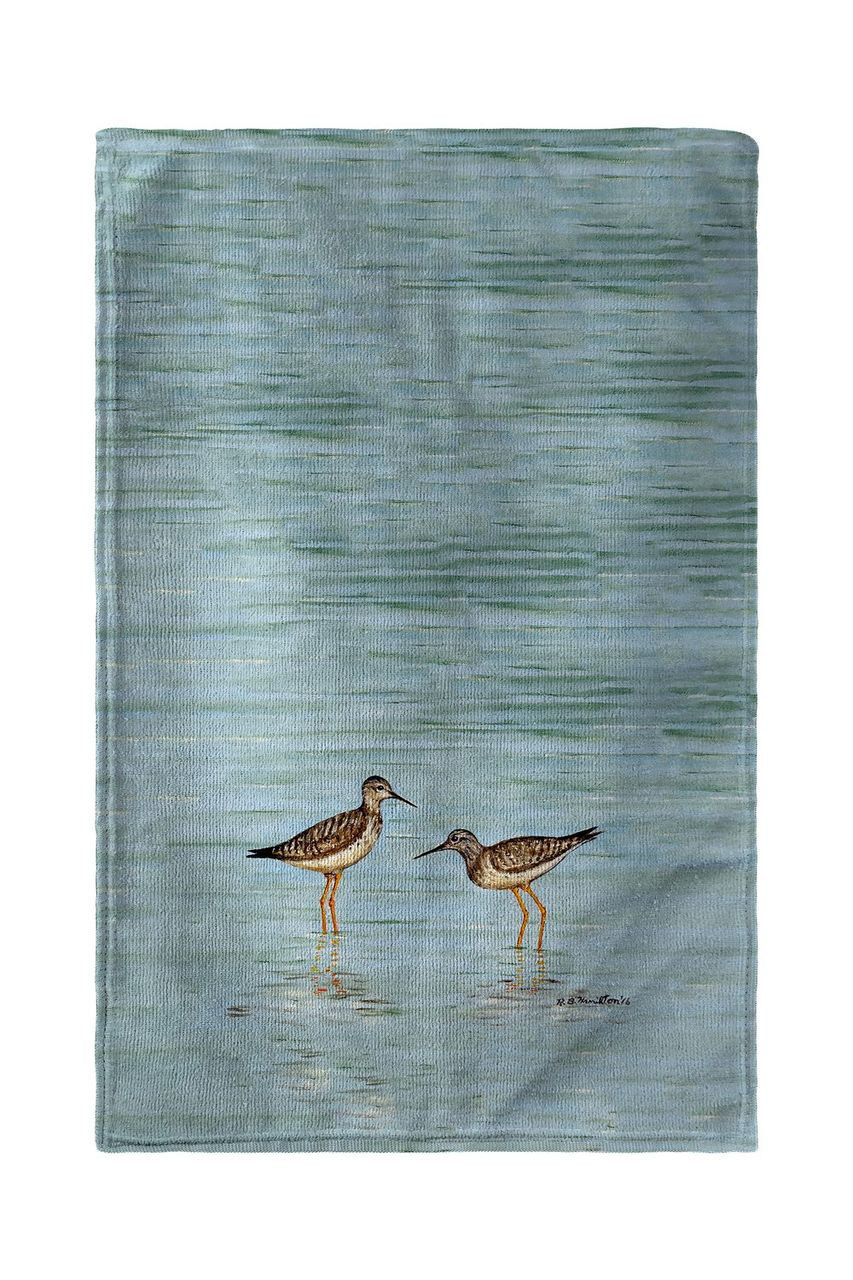 Yellowlegs Beach Towel