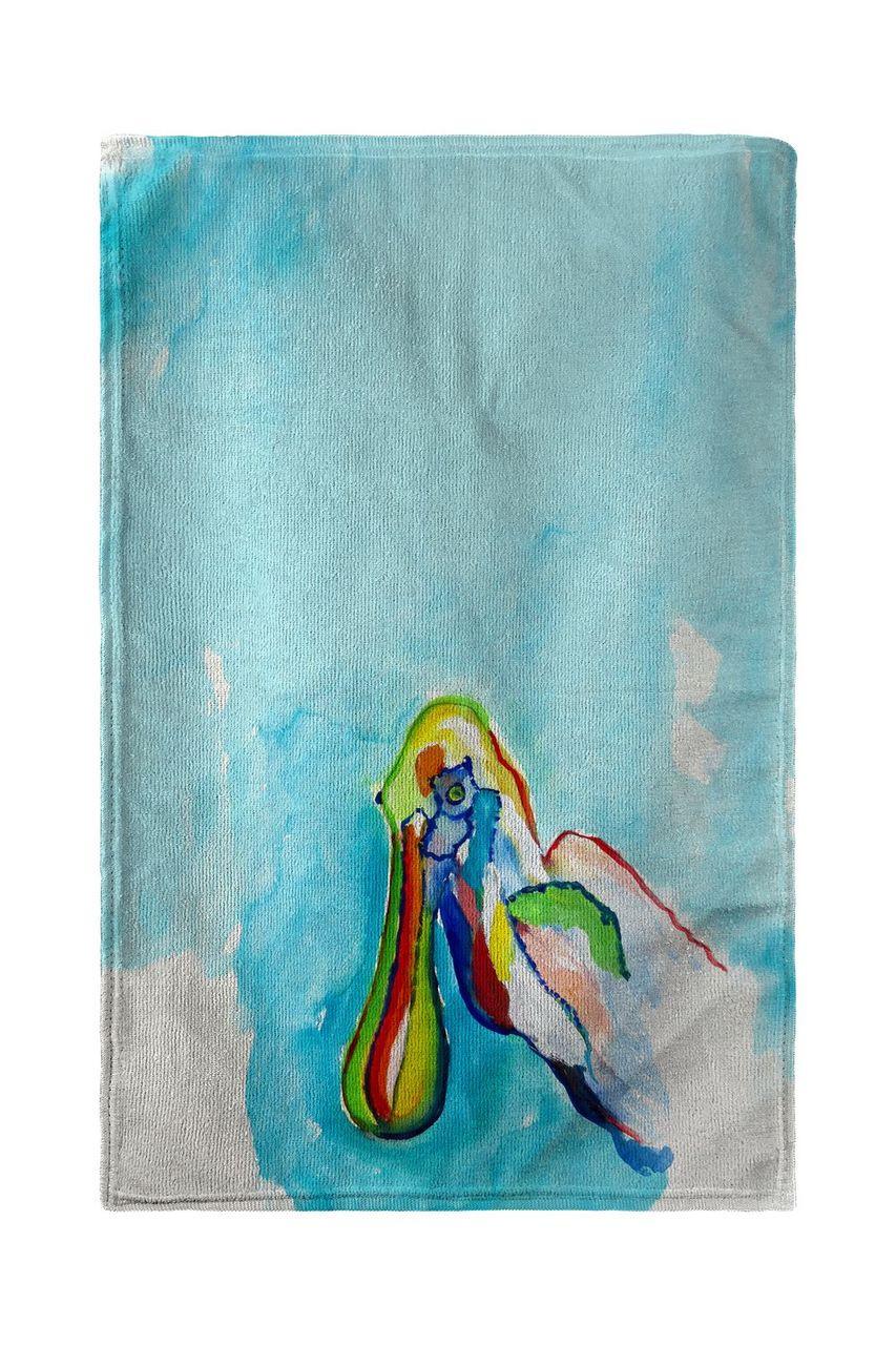 Spoonbill Head Beach Towel