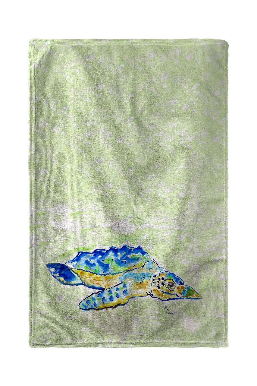 Loggerhead Turtle Beach Towel