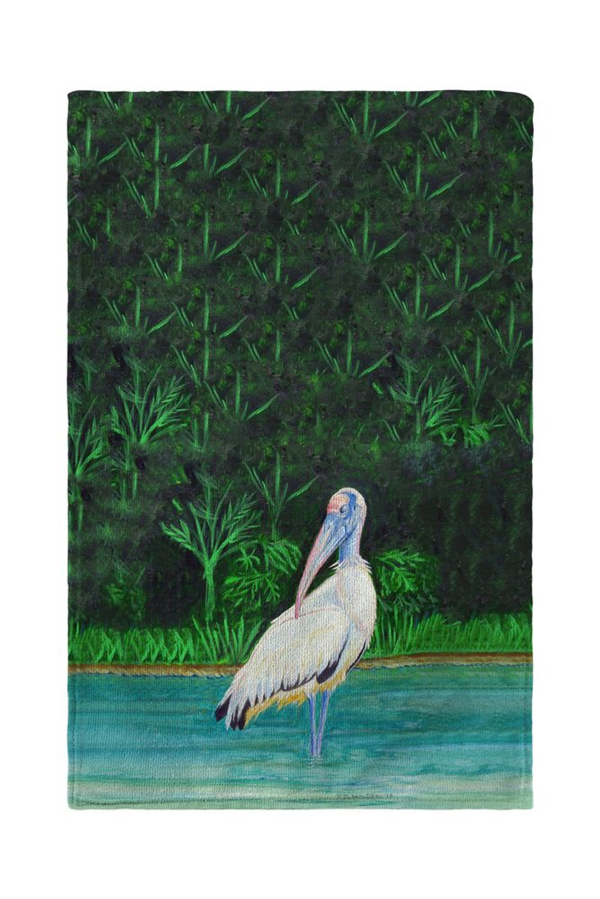 Dick's Wood Stork Beach Towel
