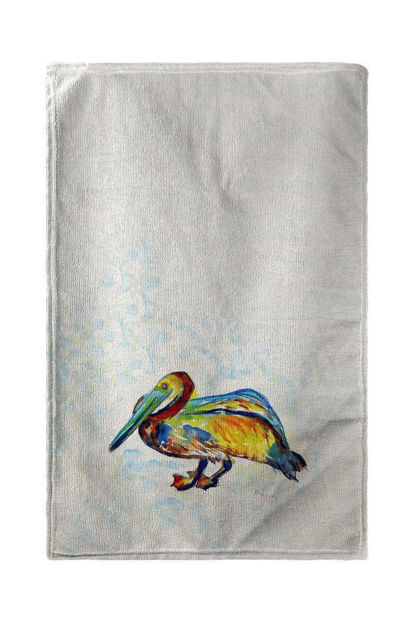 Gertrude Pelican Beach Towel