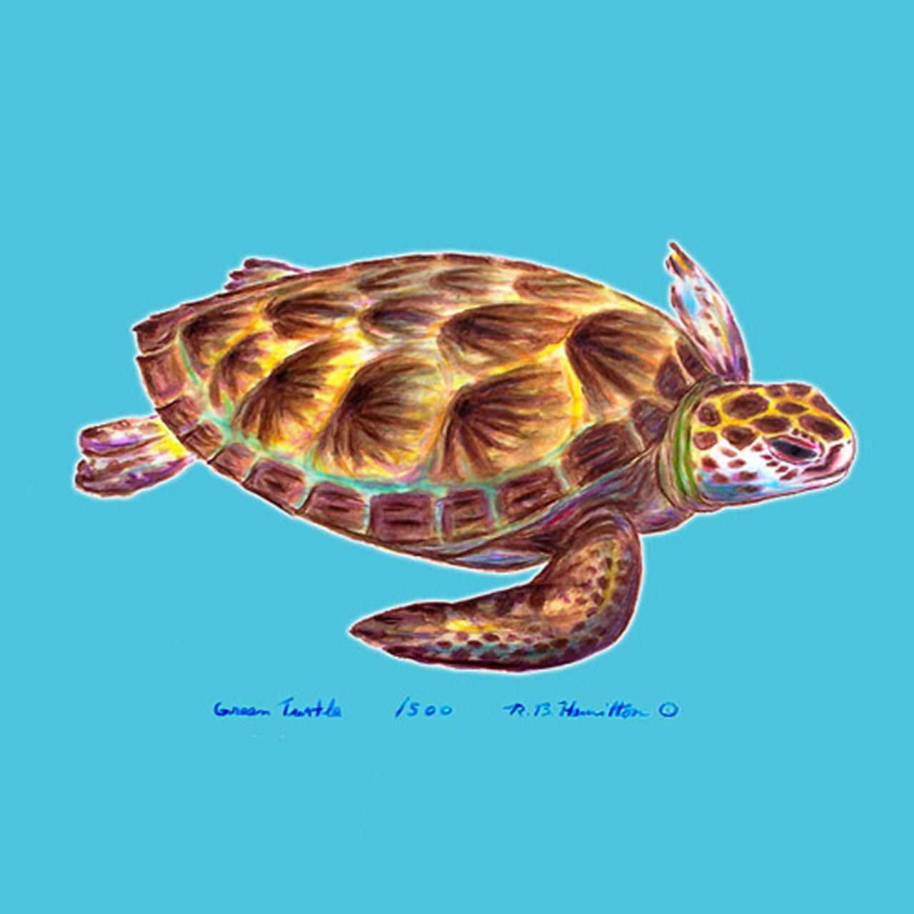 Sea Turtle Coasters - Set of 4