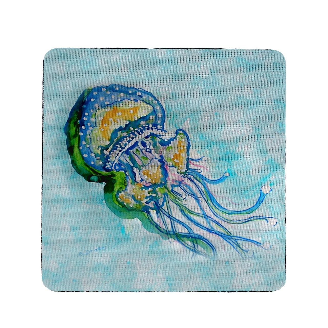 Jellyfish Coasters - Set of 4