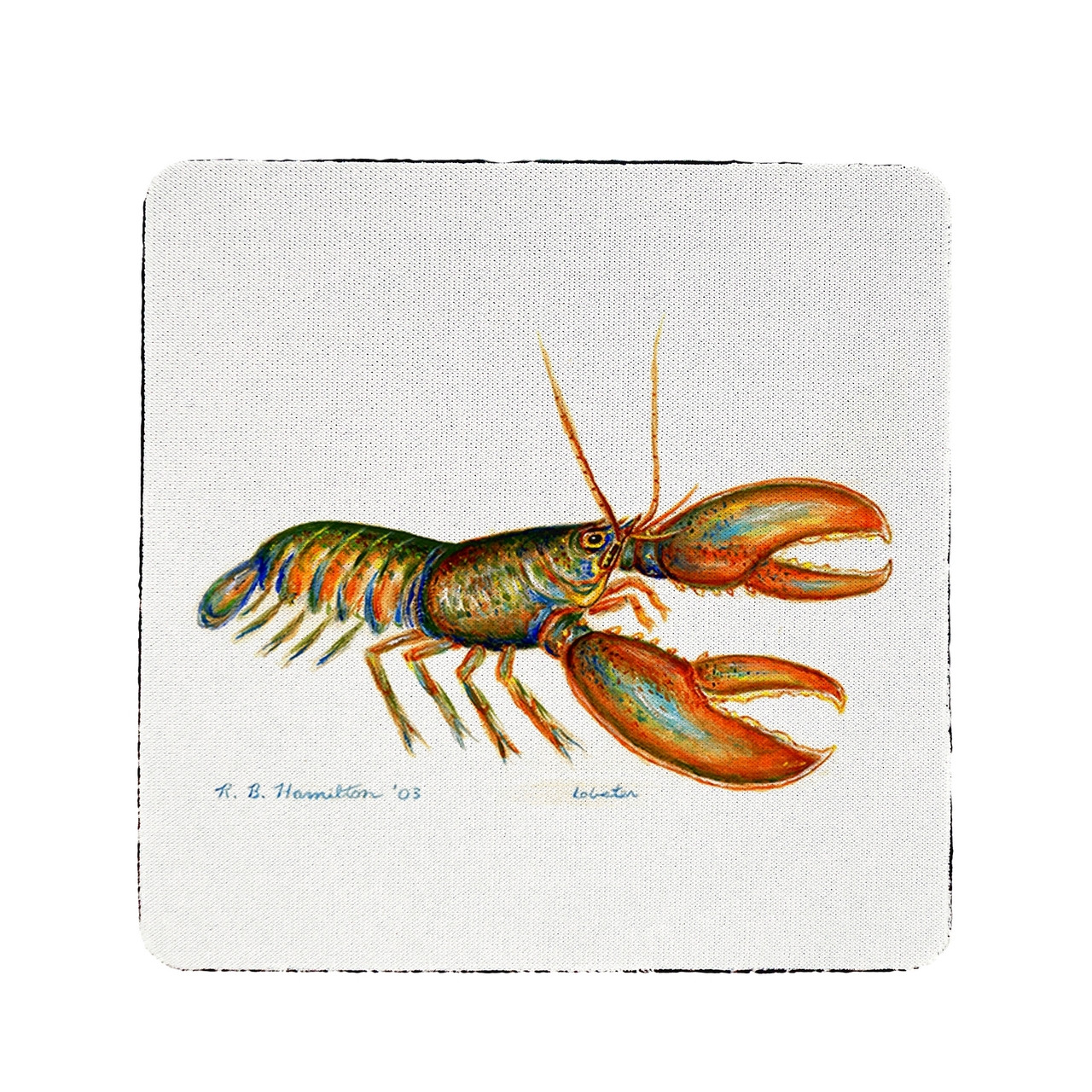 Live Lobster Coasters - Set of 4