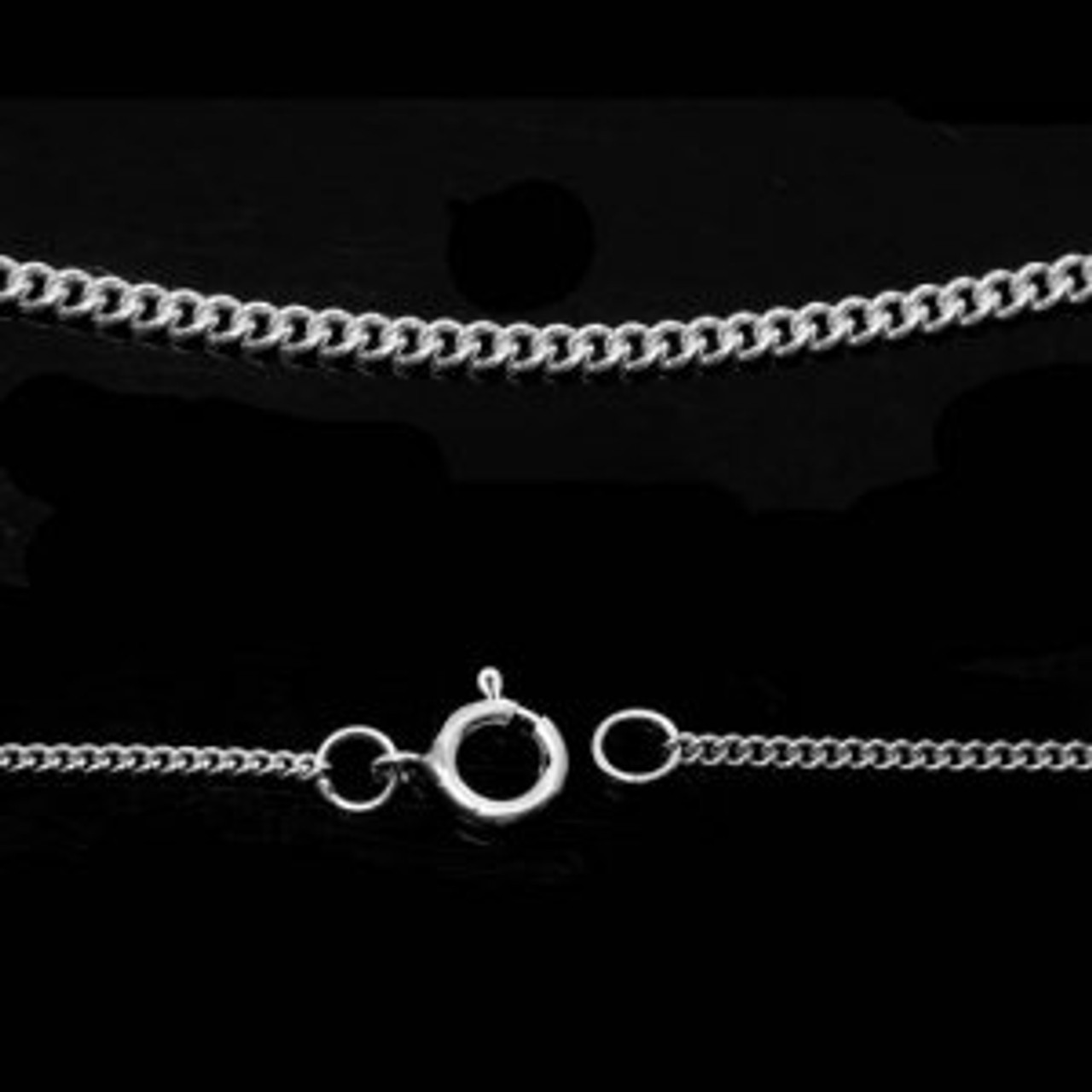 Sterling Silver Classic Chain included