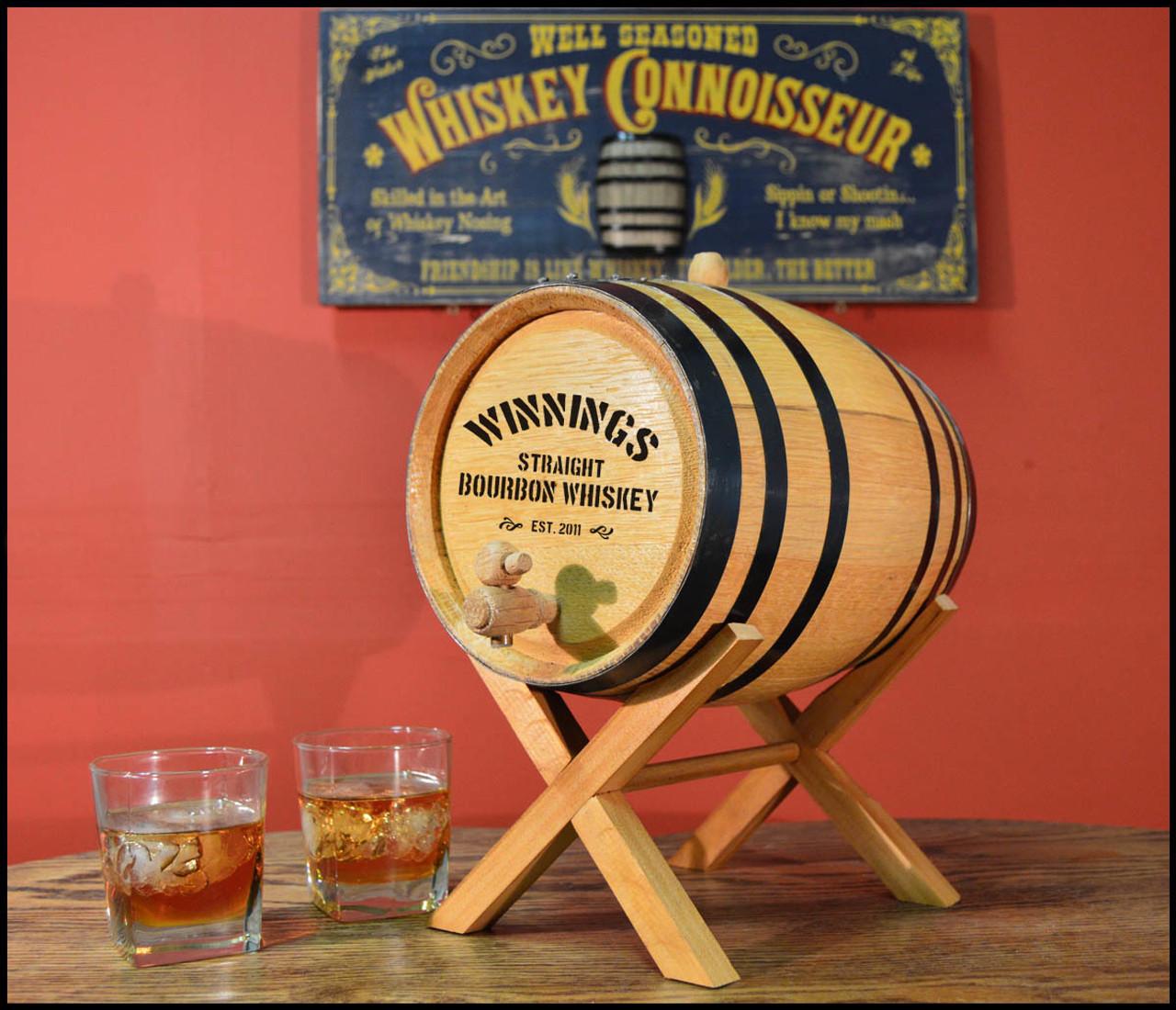 Distillery Oak Barrel - Personalized