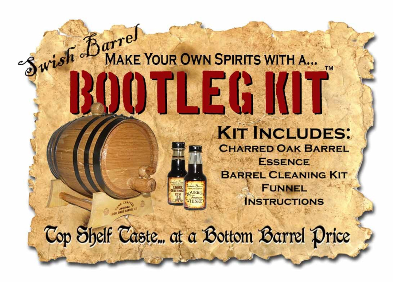 Whiskey Barrel Bootleg Kit - Personalized -  Mermaid