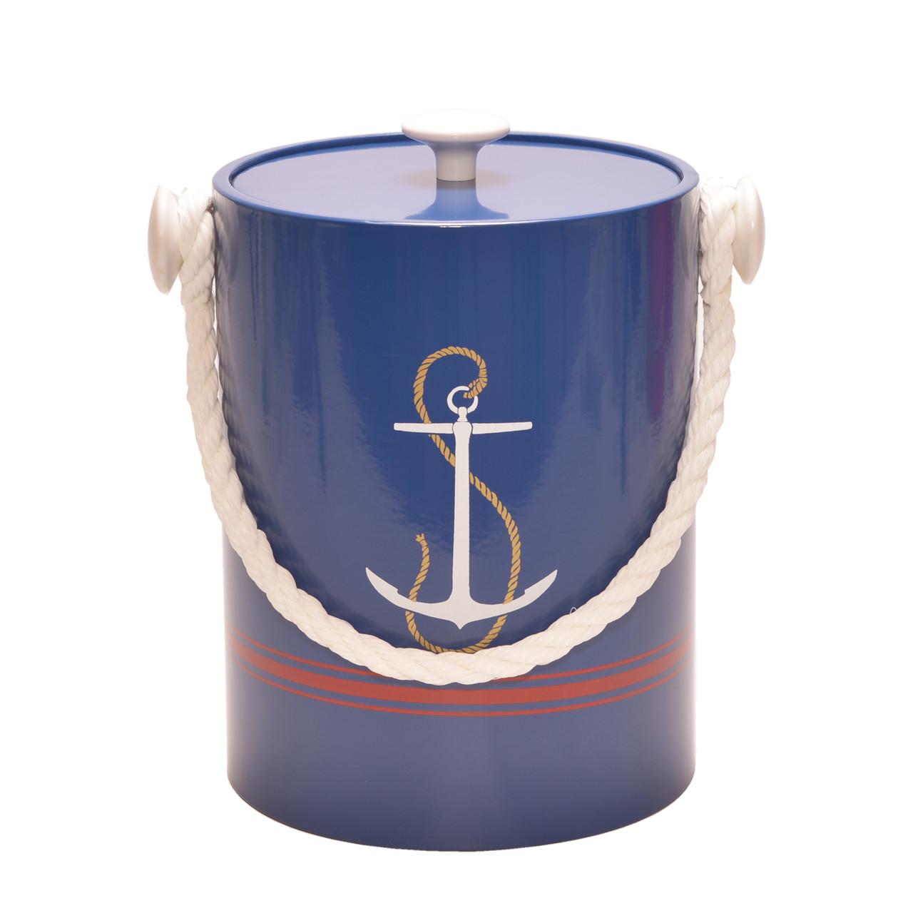 Anchor Blue Ice bucket - 5qt