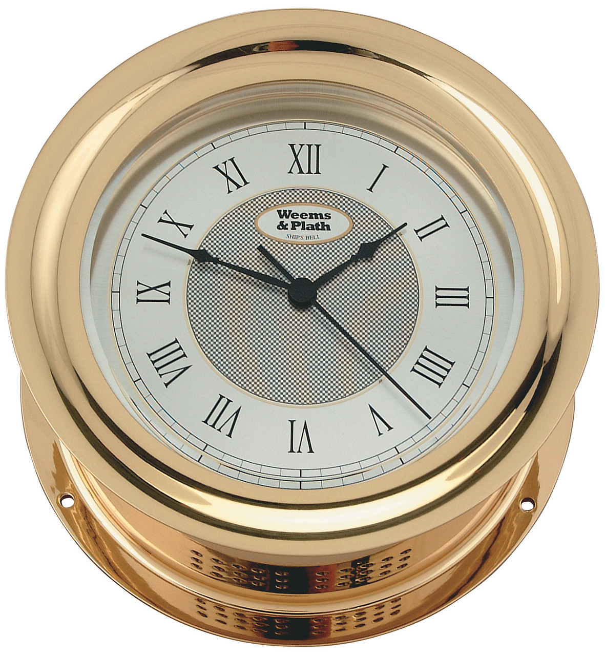 Anniversary Quartz Ship's Bell Clock (100175)