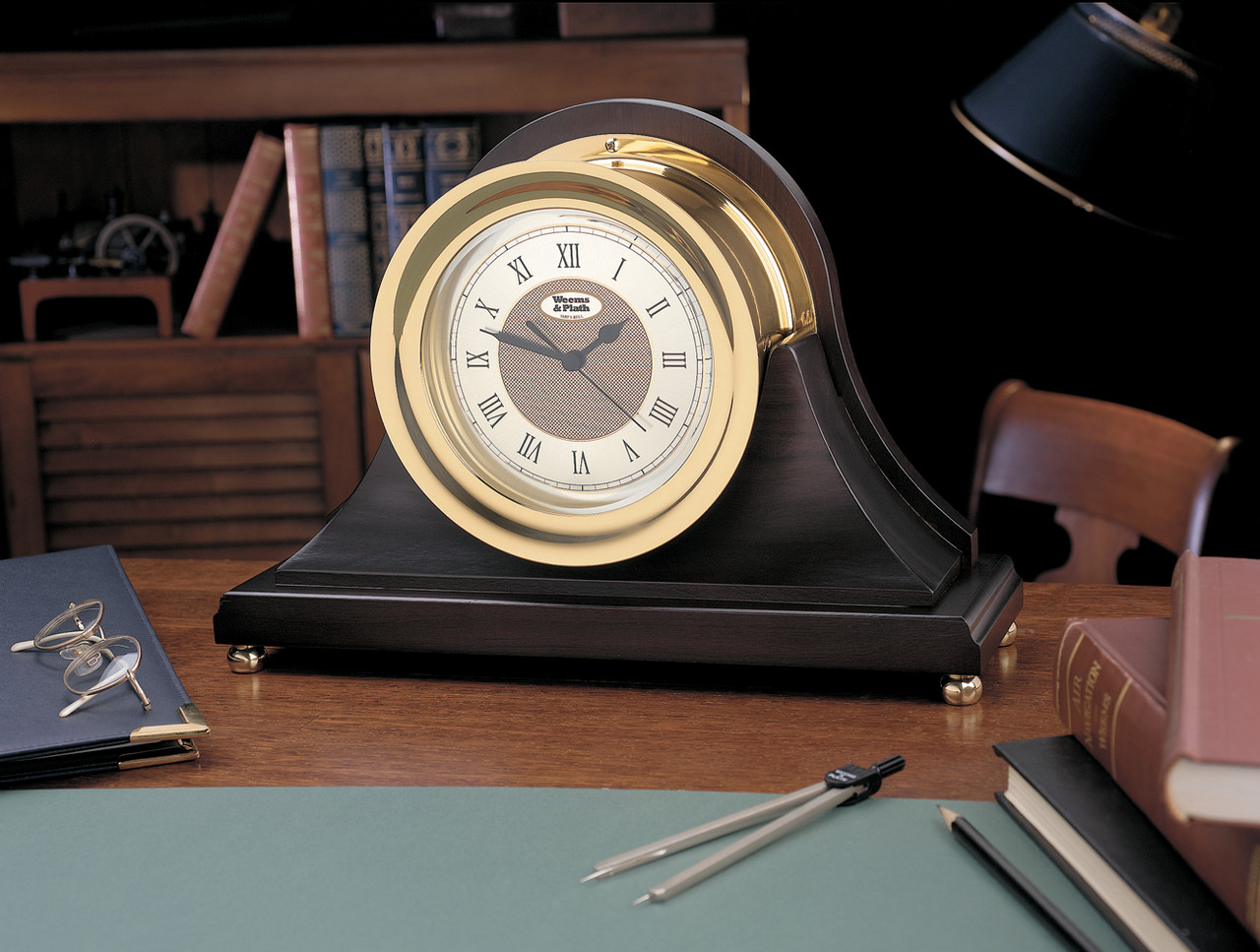 Anniversary Quartz Ship's Bell Clock