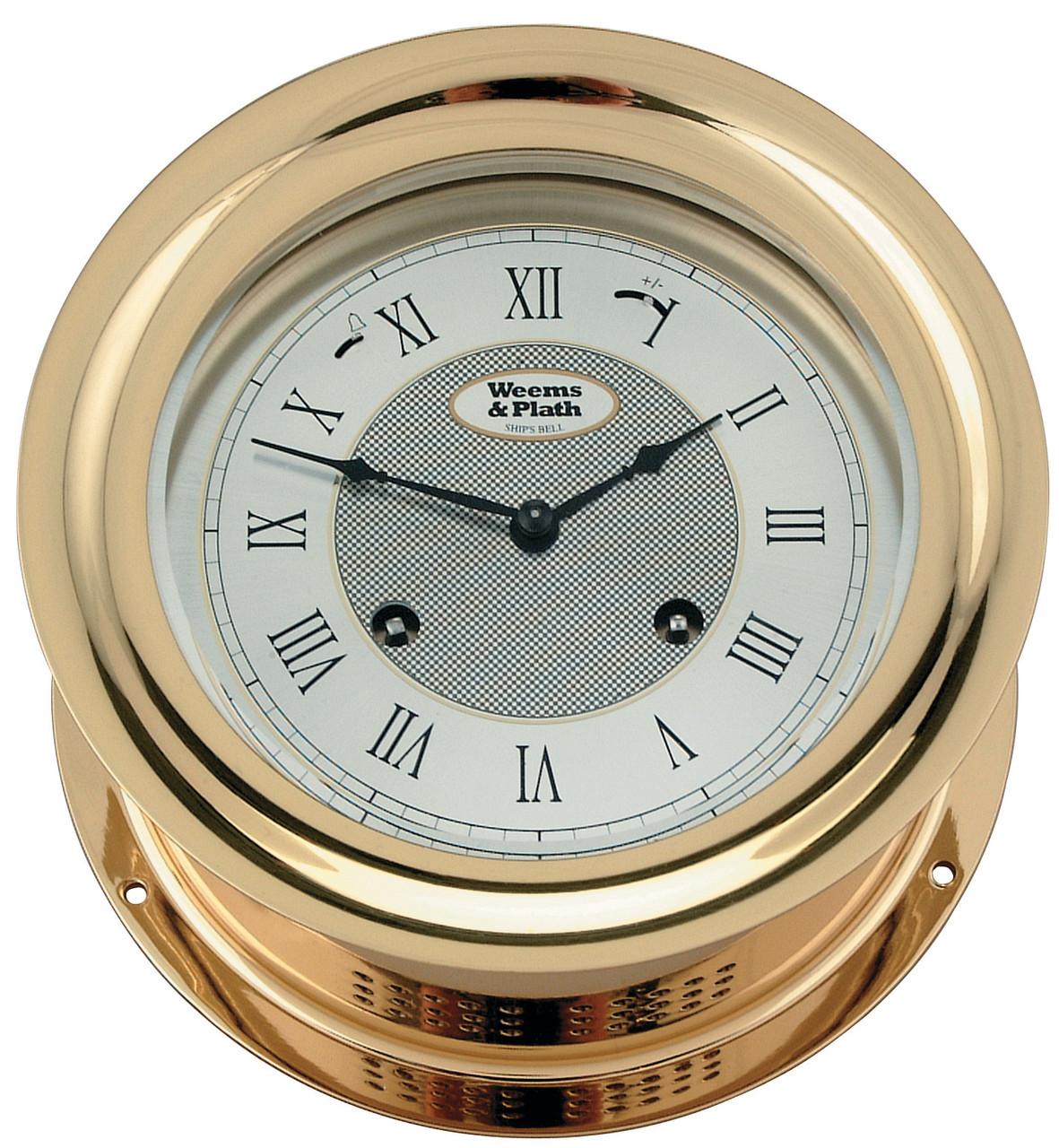 Anniversary 8-Day Ship's Bell Clock (100275)