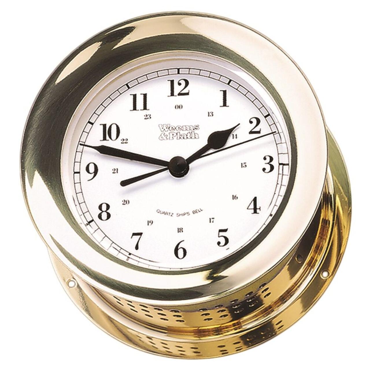 Atlantis Quartz Ship's Bell Clock (200100)