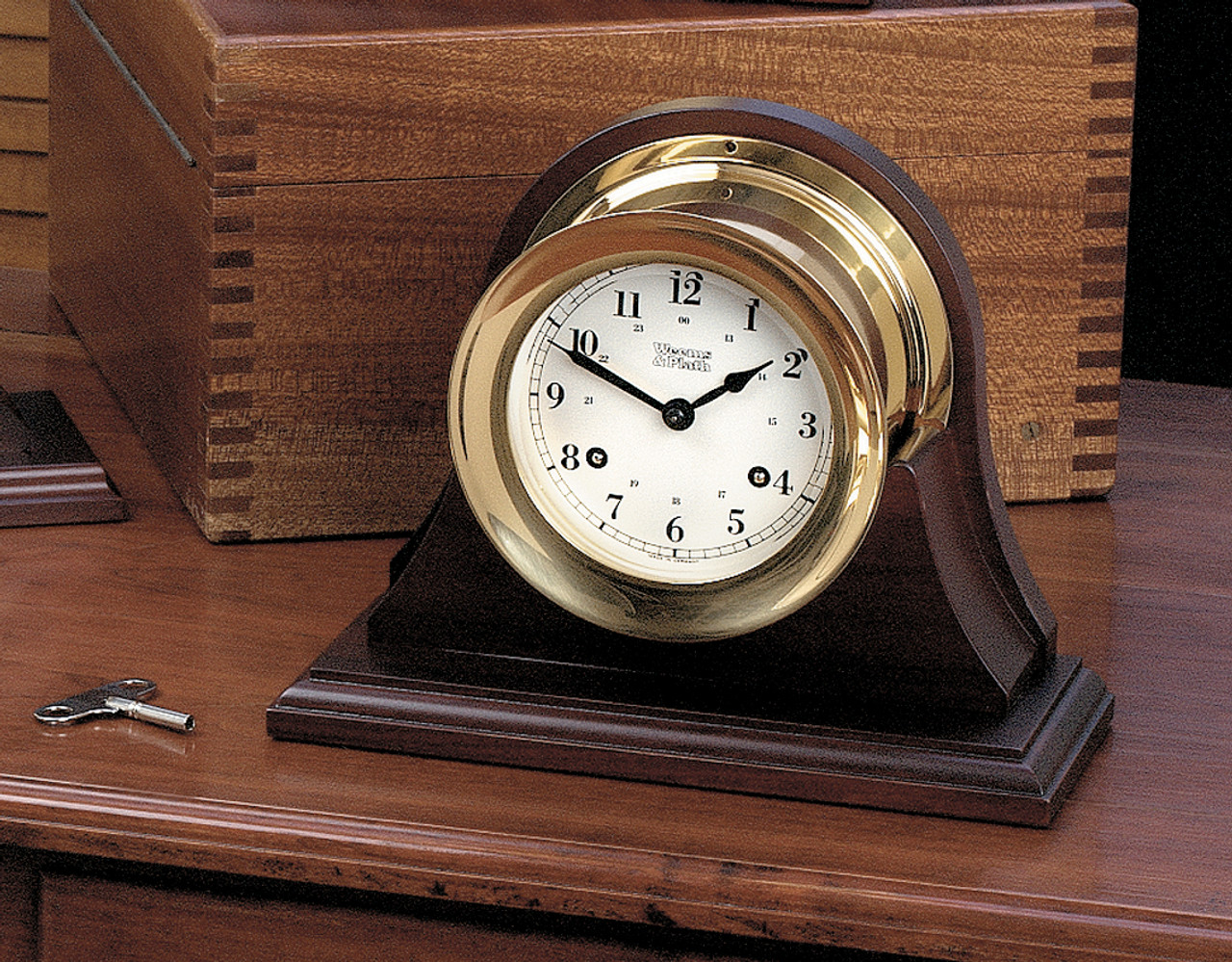 Atlantis 8-Day Ship's Bell Clock