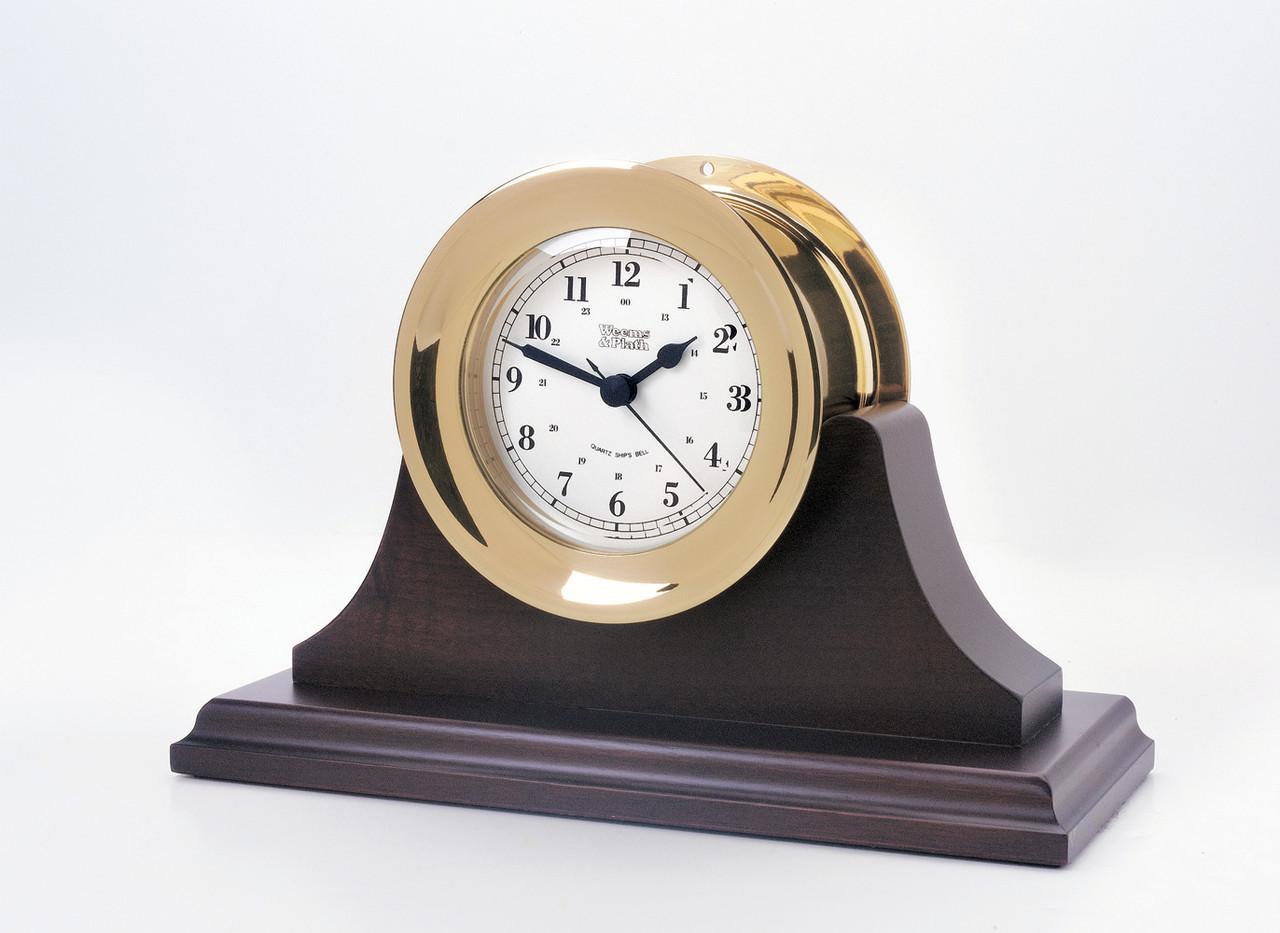 Atlantis Premiere Quartz Clock - Black