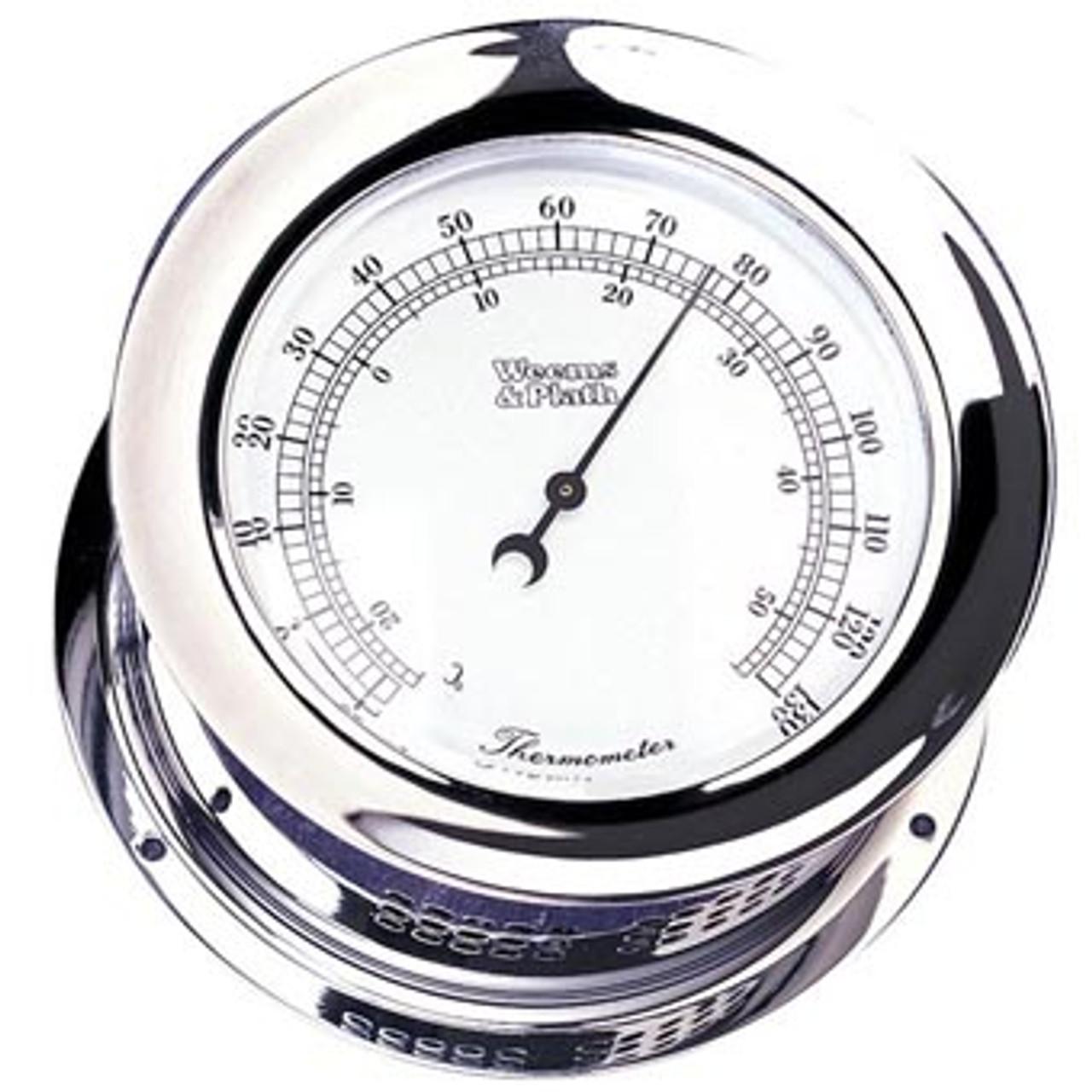 Chrome Plated Atlantis Thermometer (221200)