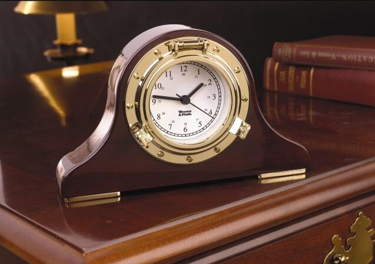 Nautical Tambour Clock (410500)