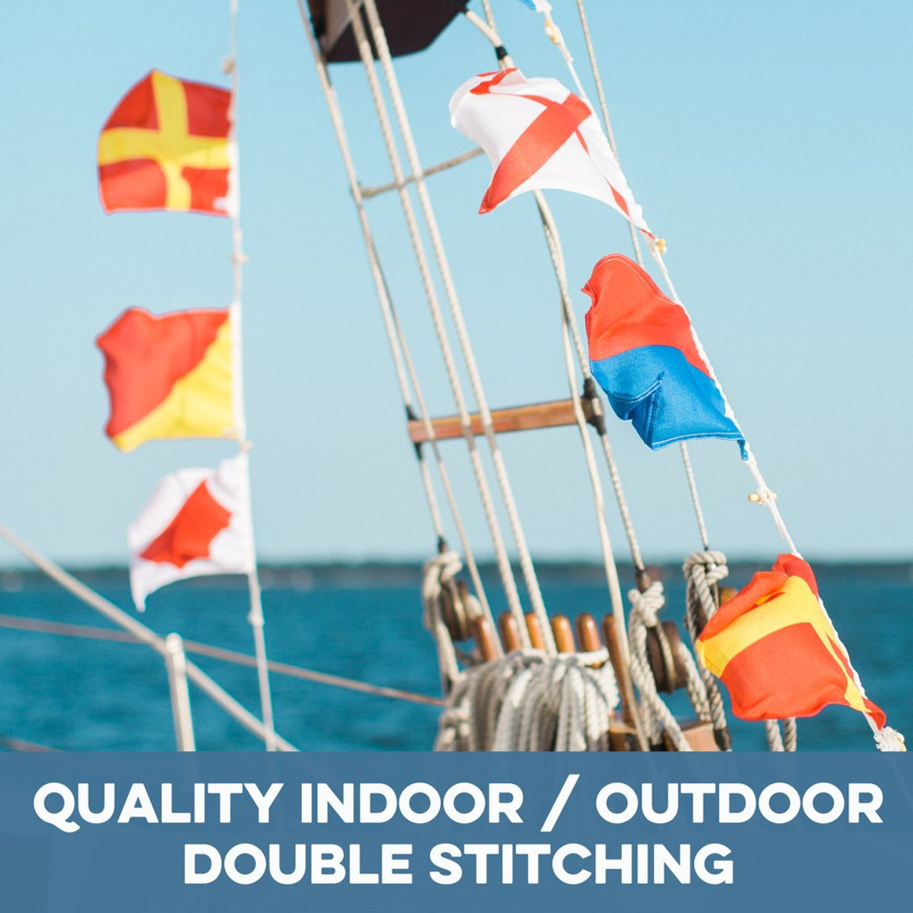 Nautical Signal Flags - Individual - Letters and Numbers