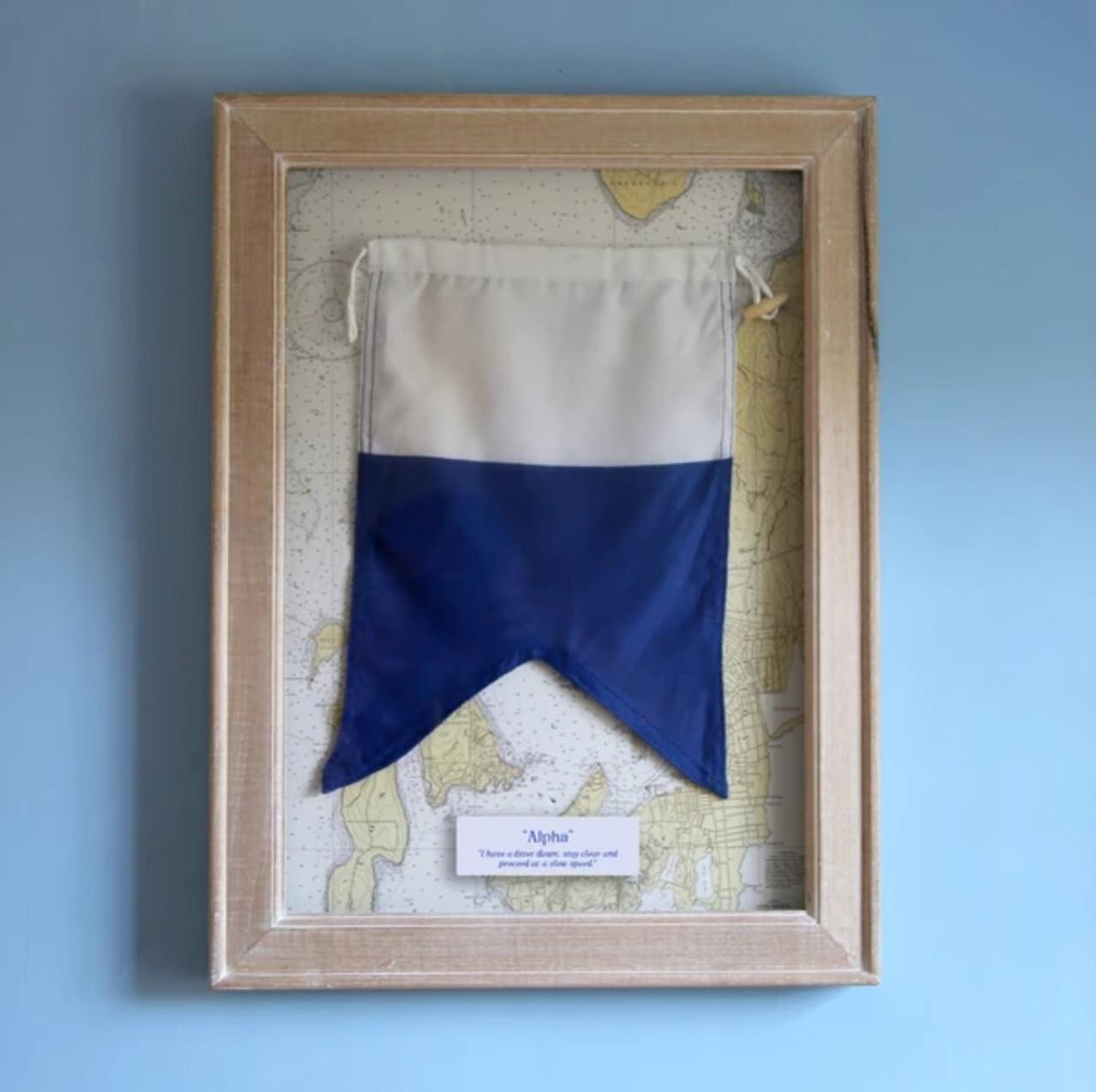 Flag A Framed