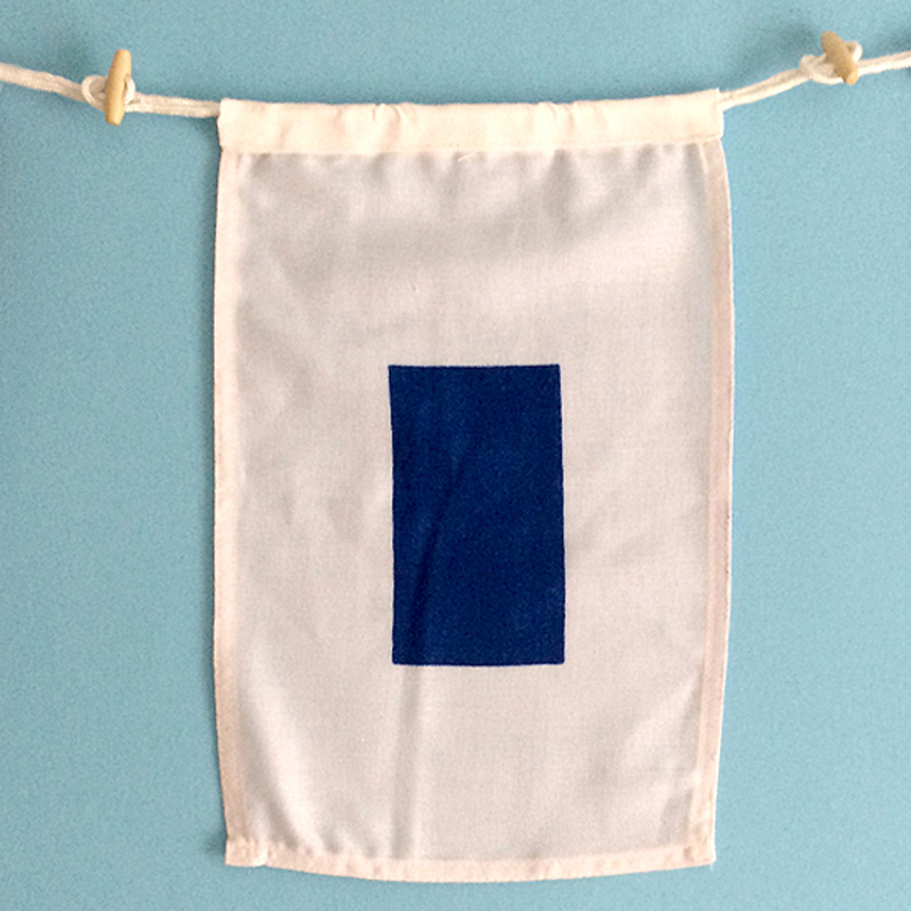 Nautical Signal Flag - Framed - Letter S