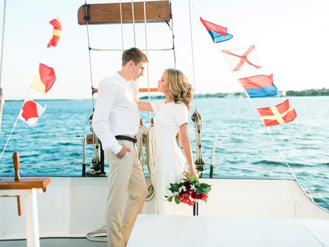 Nautical Signal Flag - Letter J