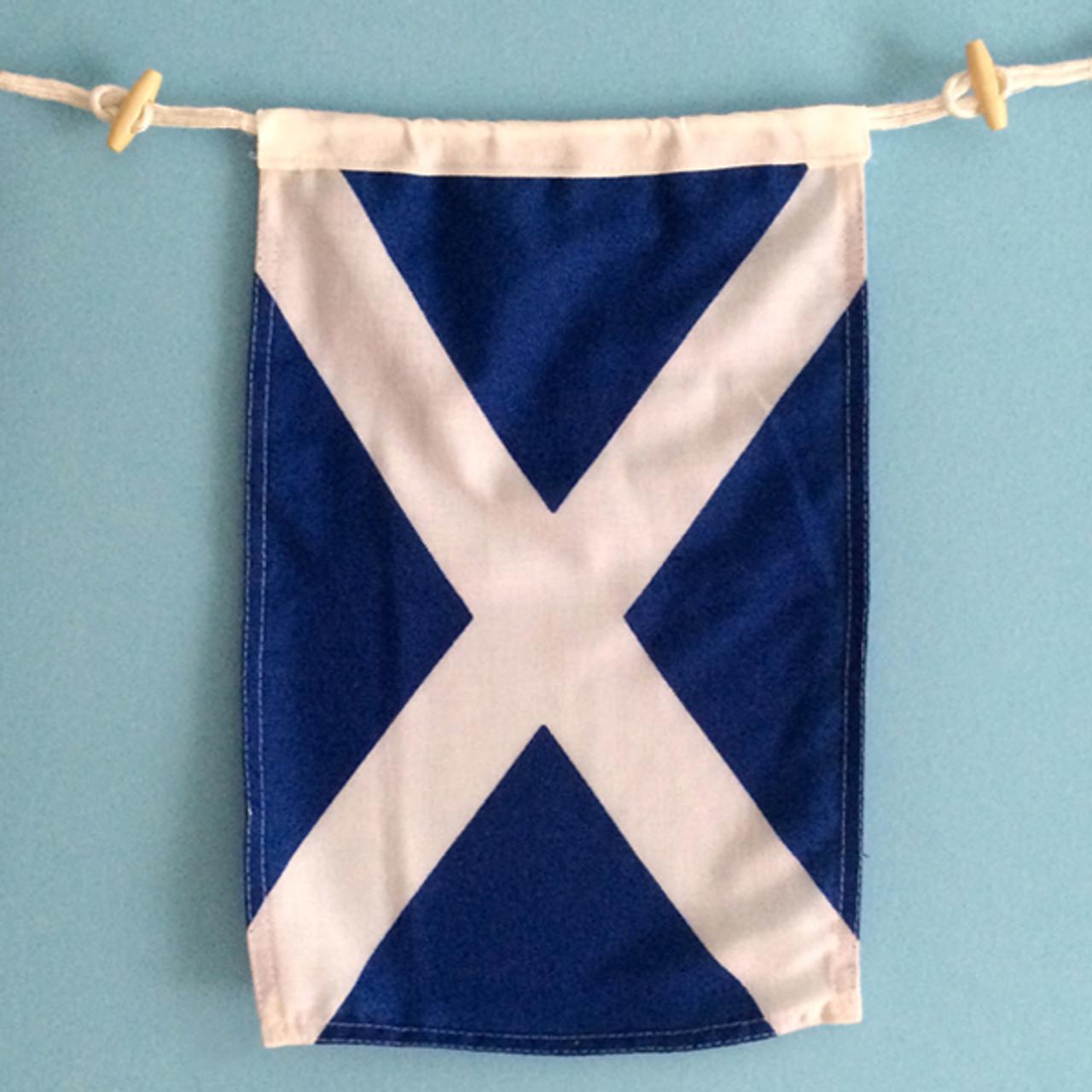 Nautical Signal Flag - Letter M