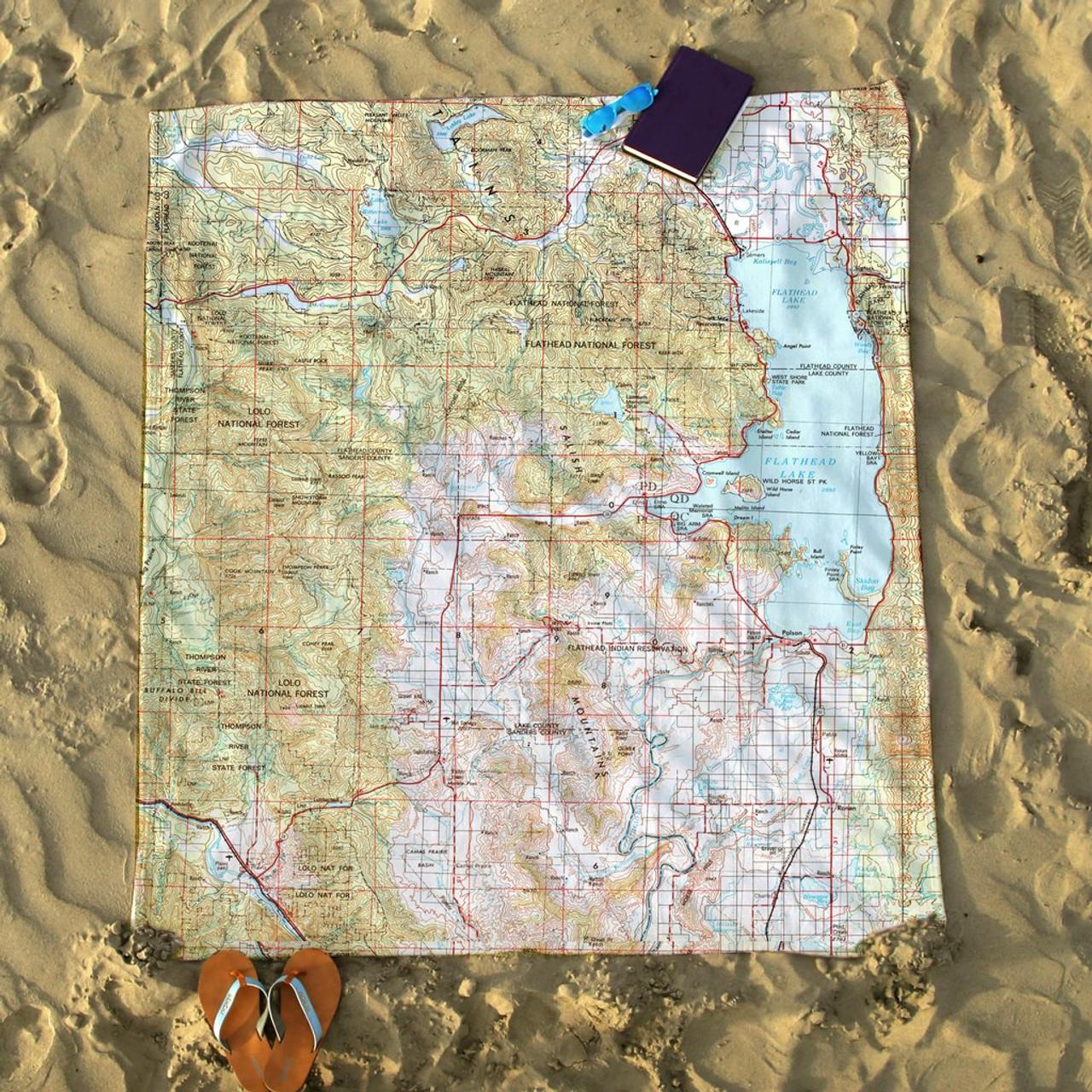 Nautical Blanket - Potomac River, MD/VA