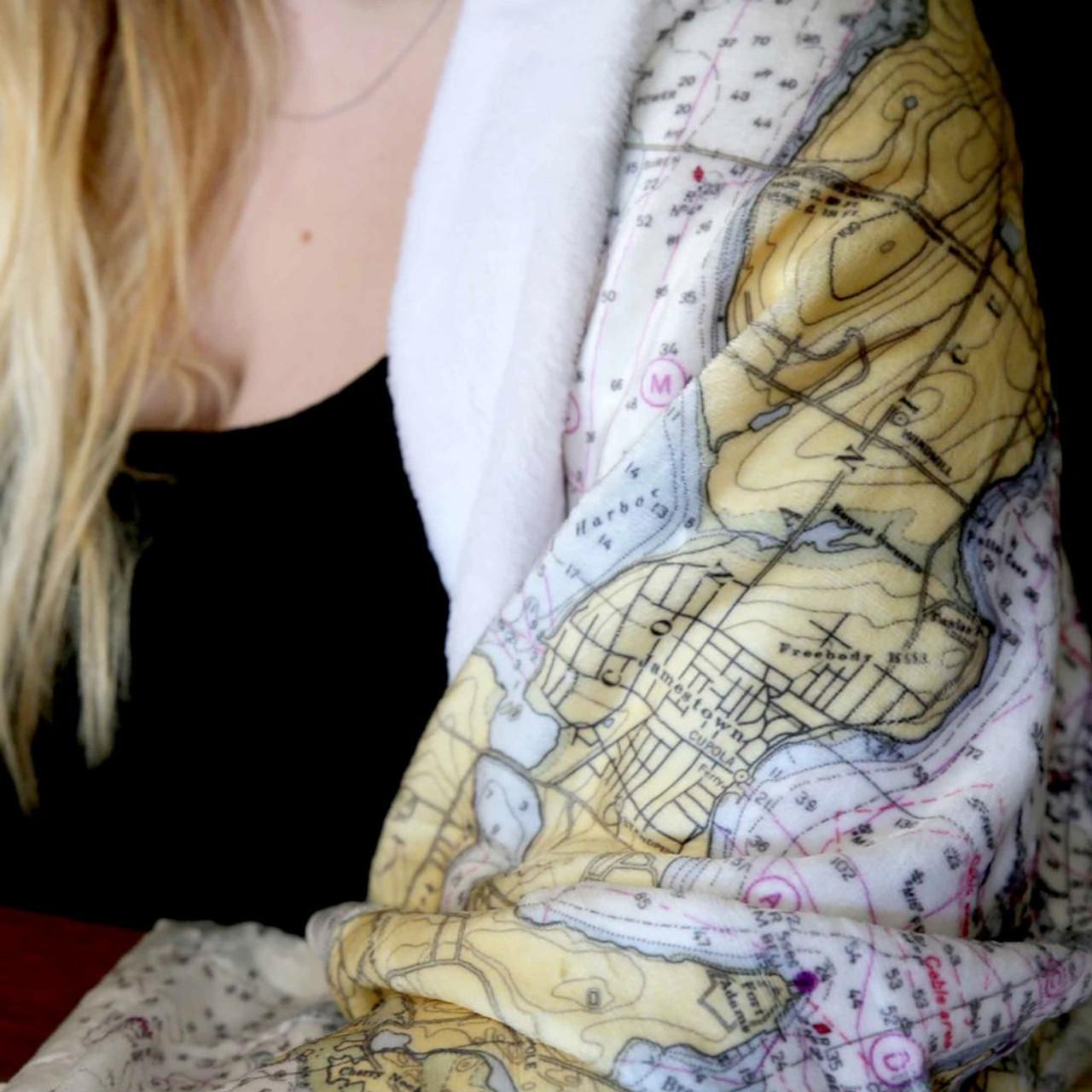 Nautical Blanket - Custom - Texture