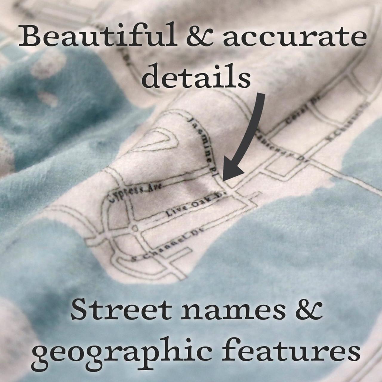 Nautical Blanket - Custom - Details