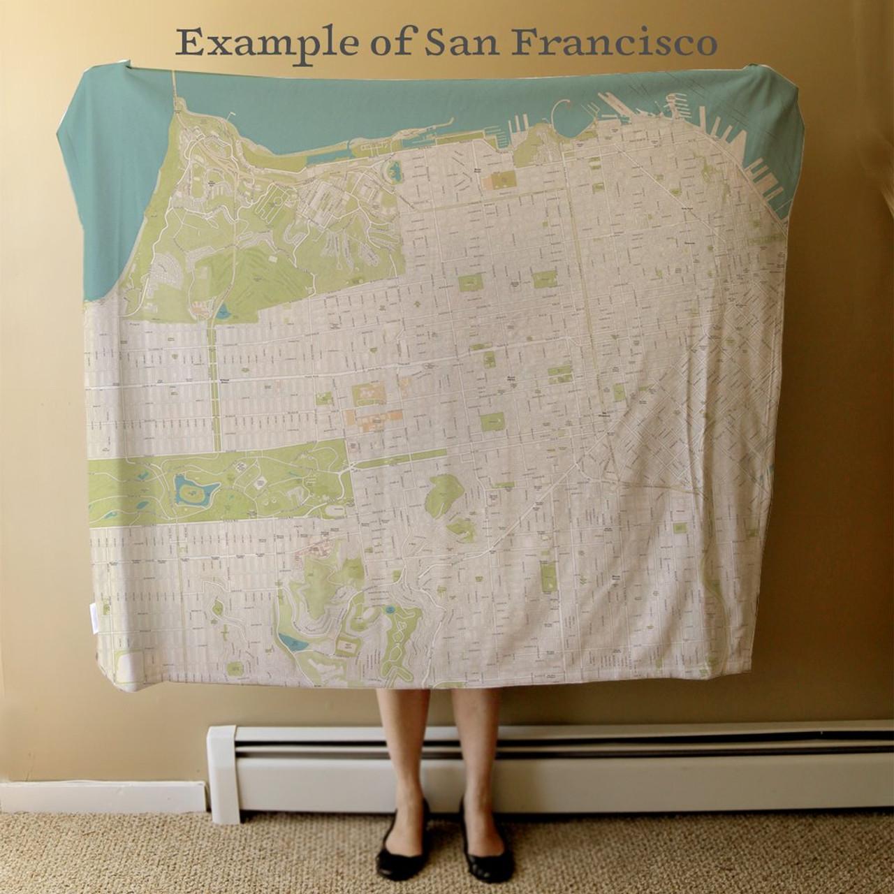 Nautical Blanket - Custom Full Size Example