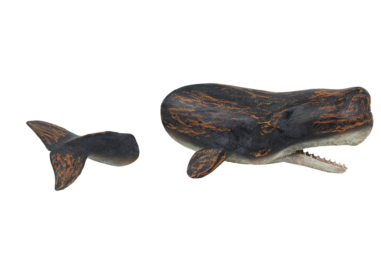 (MR-155) Breaching Whale Wall Hanging, 2 Pieces