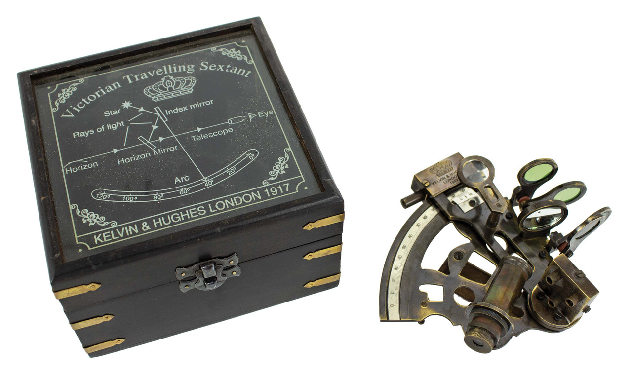 (MZ-157) Traveling Sextant with Box