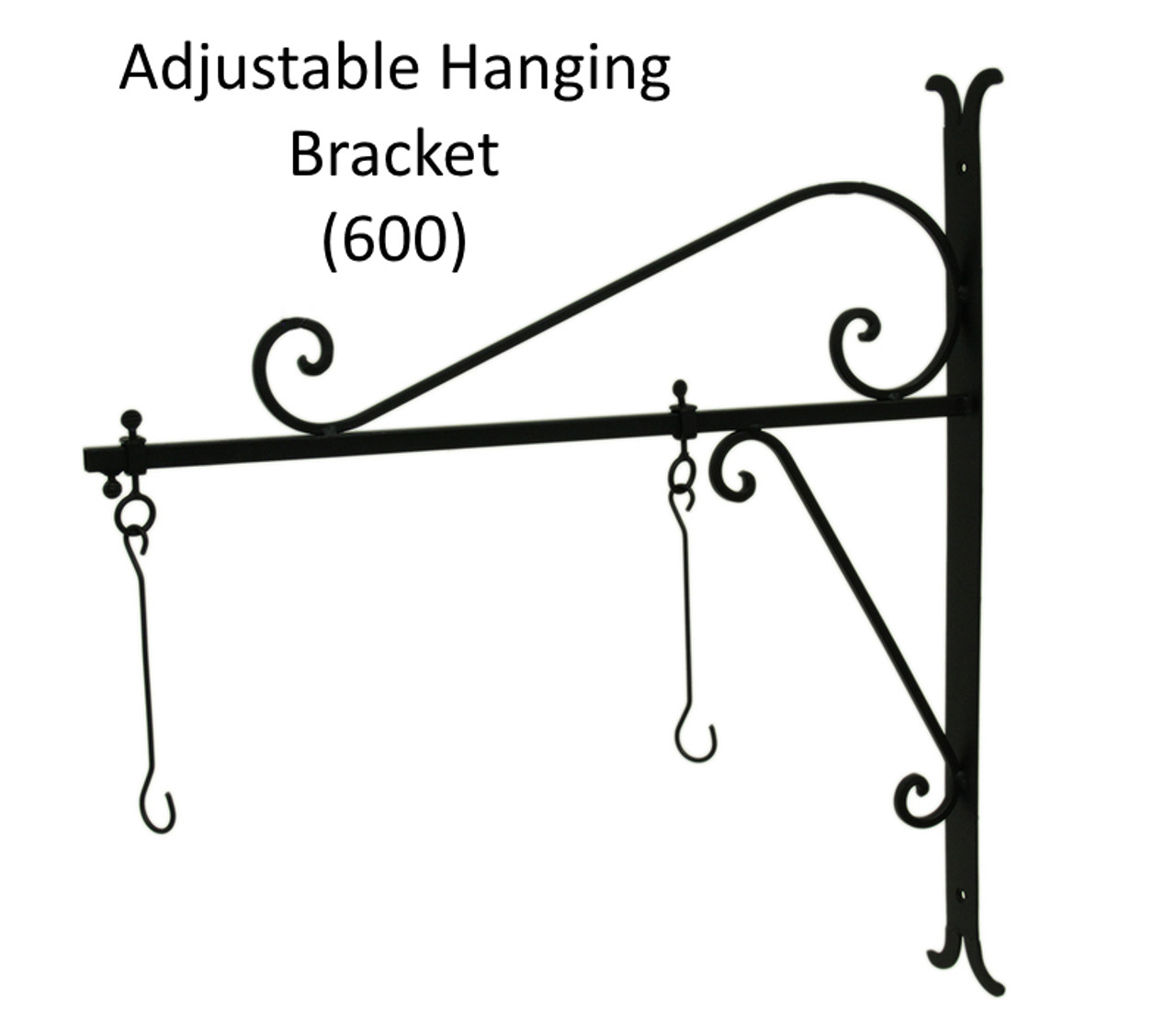 "(MDH-600) Adjustable Hanging Bracket for (MDWVH-150) Small 17"" Hanging Antique Copper Mermaid  (Sold Separately)"