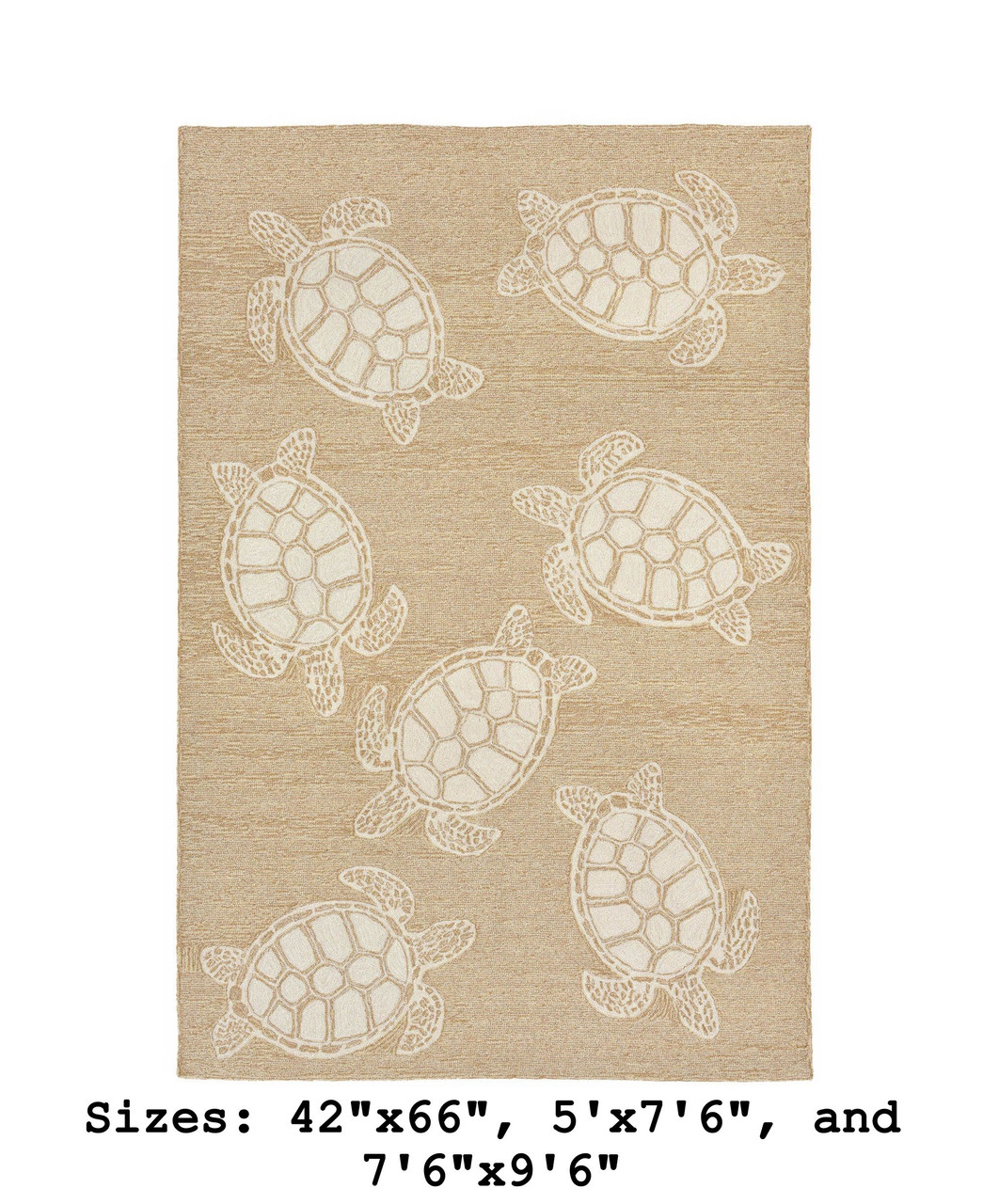 Capri Turtle Indoor/Outdoor Rug - Neutral - Large Rectangle