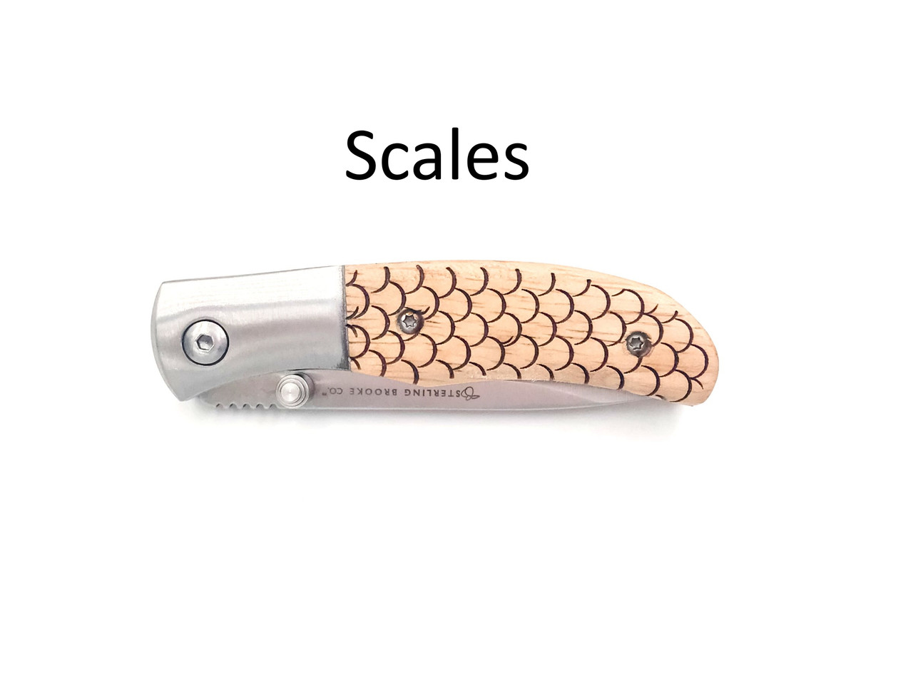 Classic Small Pocket Knife – Choose Your Design – Optional Custom Engraving - Scales