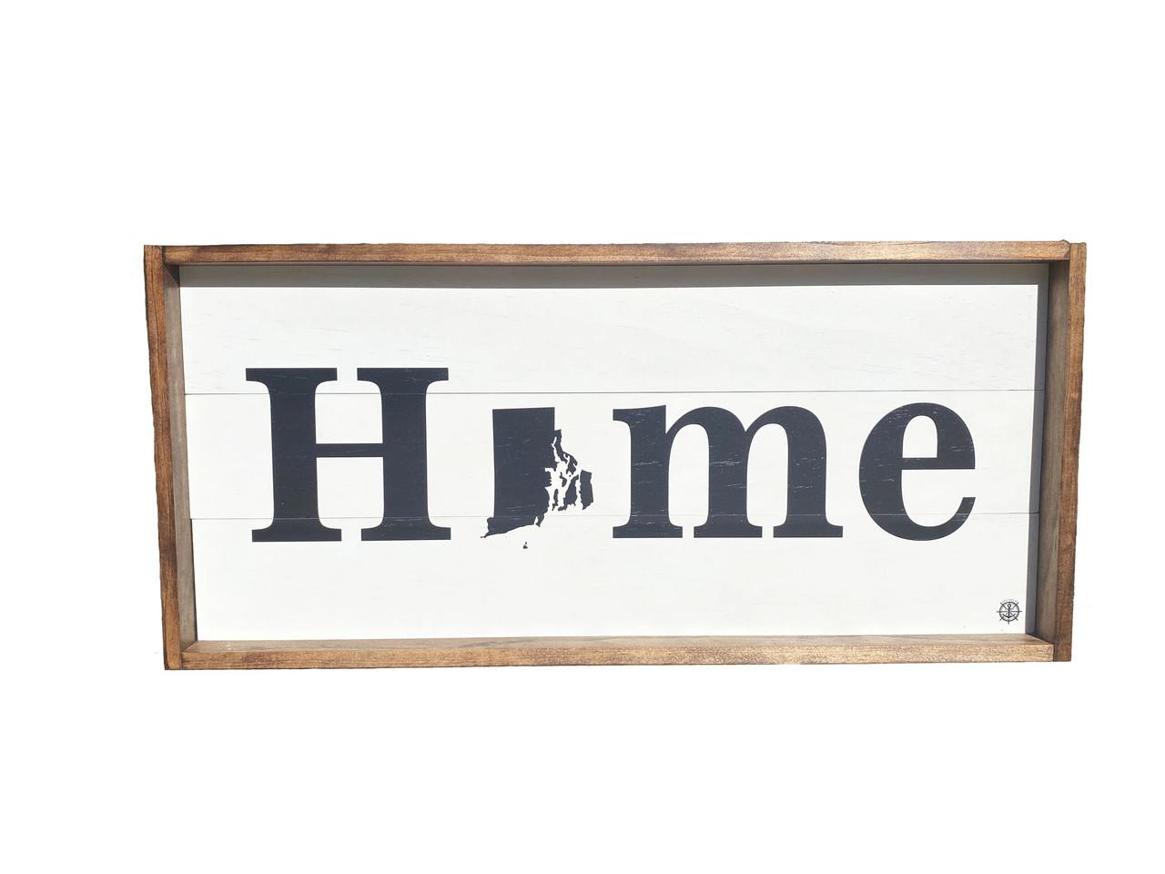 "State ""Home"" Sign - Custom - 25"" x 11.5"""