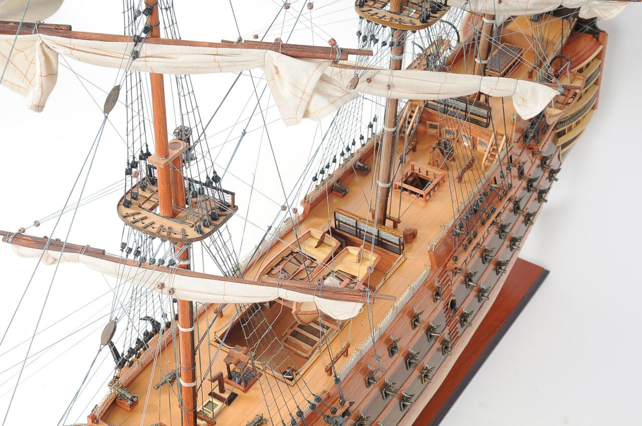 "HMS Victory Model Ship - 53"""