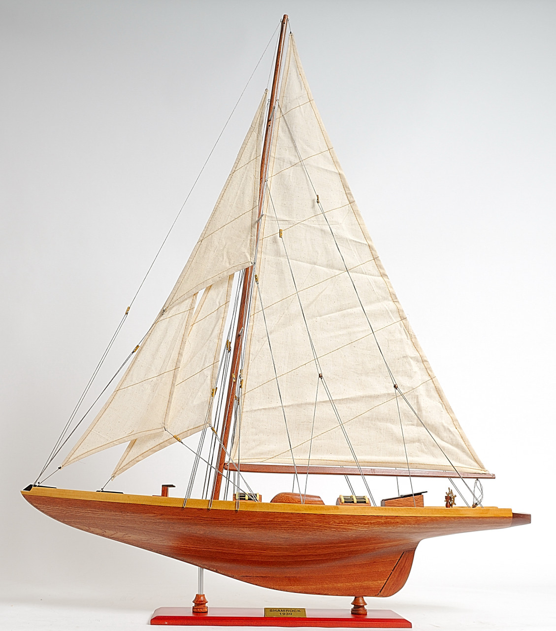 Custom Made Model Ship - Optional Personalized Plaque and Display Case