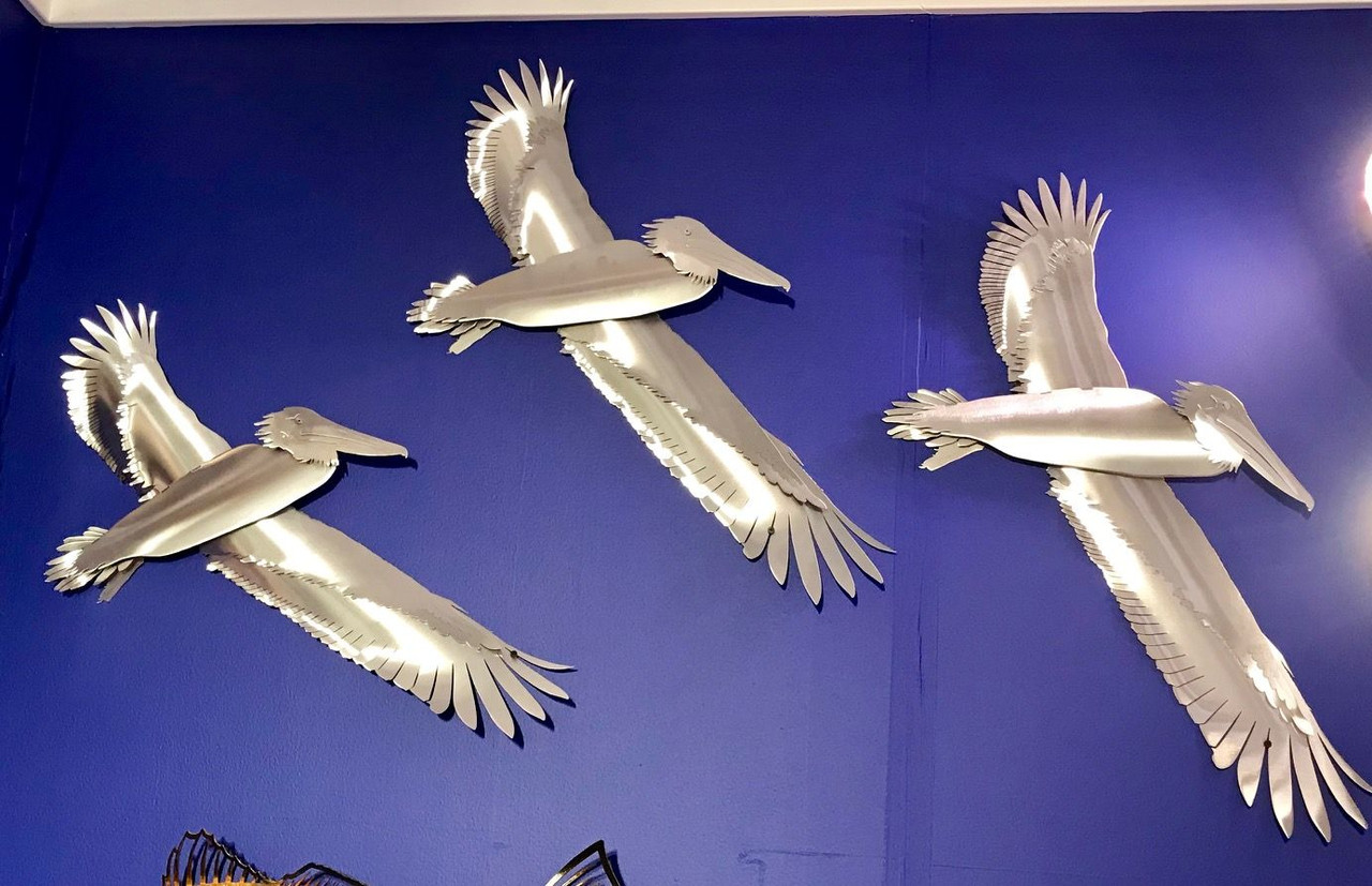 Pelican Stainless Steel Wall Decor – Lifestyl
